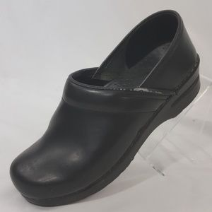Sanita Black Nursing Occupational Clogs Sz 7/ 7.5